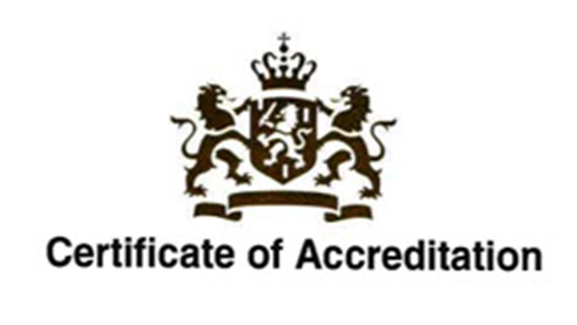 Certificate Of Accreditation Cover
