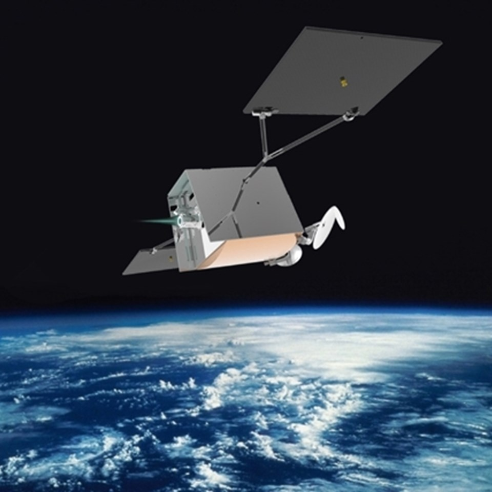 Oneweb Satellite With Thruster